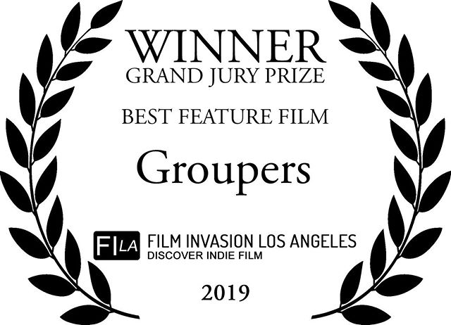 Holy shit!!! Our feature film, 'Groupers' won not 1, but 4 AWARDS at @filminvasionla L.A. last weekend for Best Feature Film, Best Director, Best Lead Actress, and Best Supporting Actor! Congratulations to the entire cast and crew of this film, and to everyone who was a part of its creation!!!! This is huge!