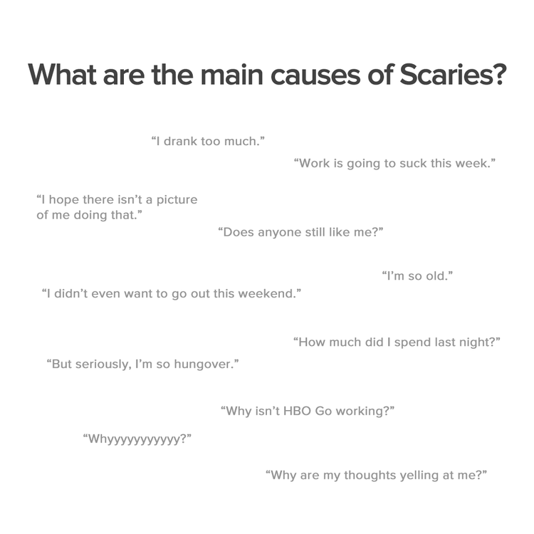 What are the causes of The Sunday Scaries?