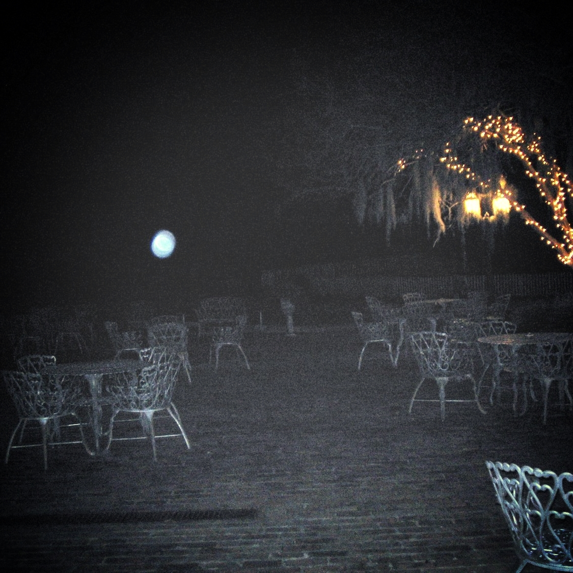 The Myrtles Plantation,  Orb where Celeste saw the group of people dressed in 1920s attire.