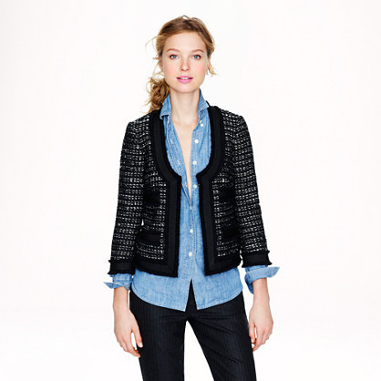 Collection black tweed jacket . Was $268, now $199.99. $119.99 after additional 40% off.