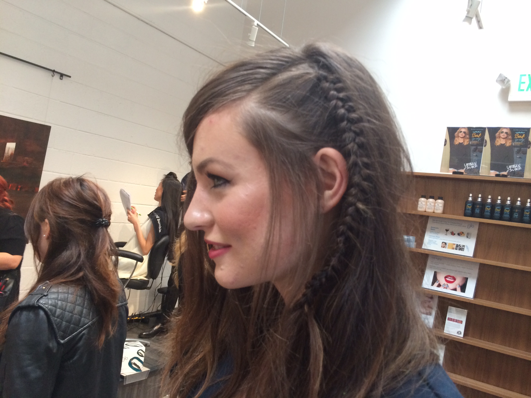 editorial hairstyle #1, I will be trying this one soon!