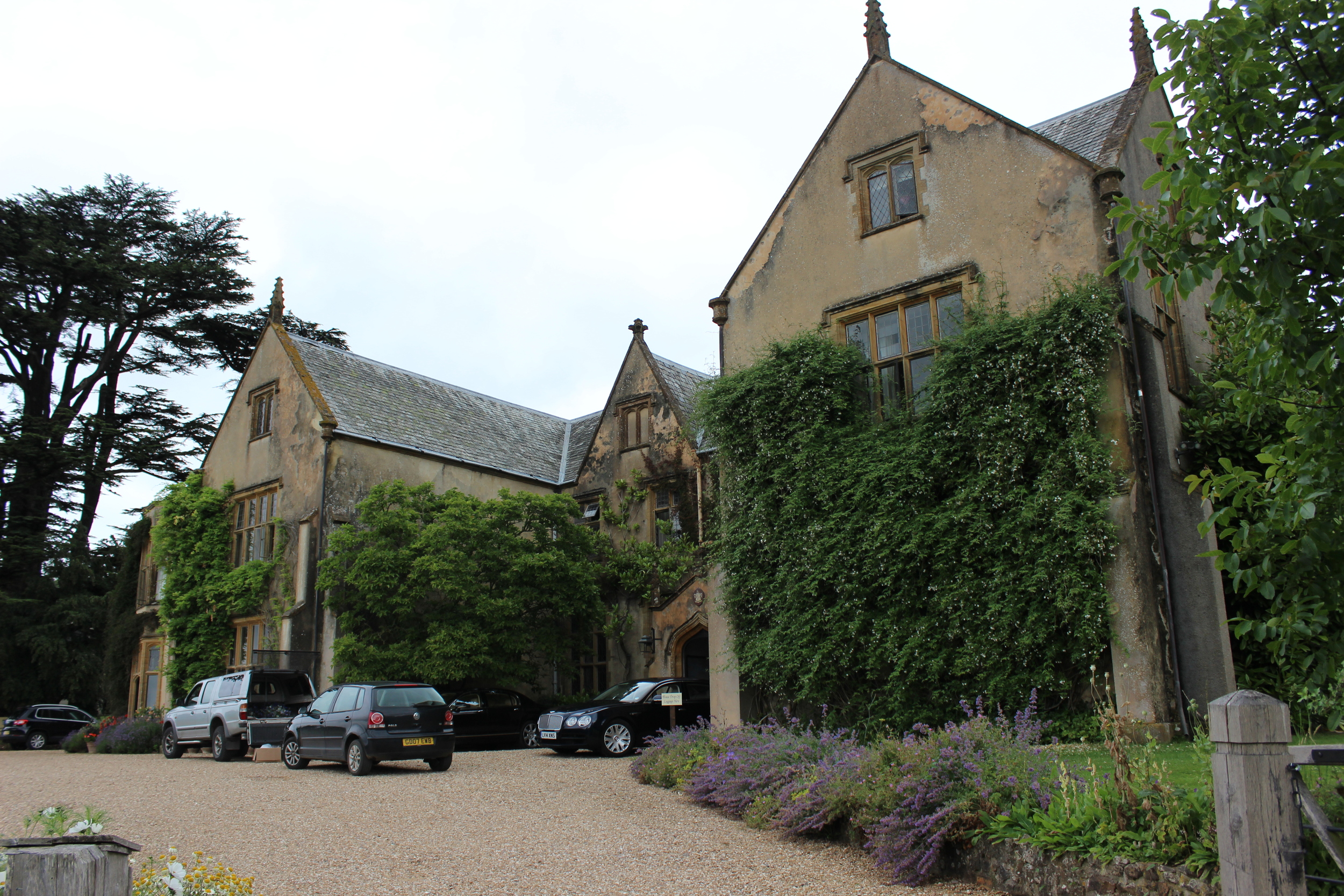 The spectacular Combe House in Devon.