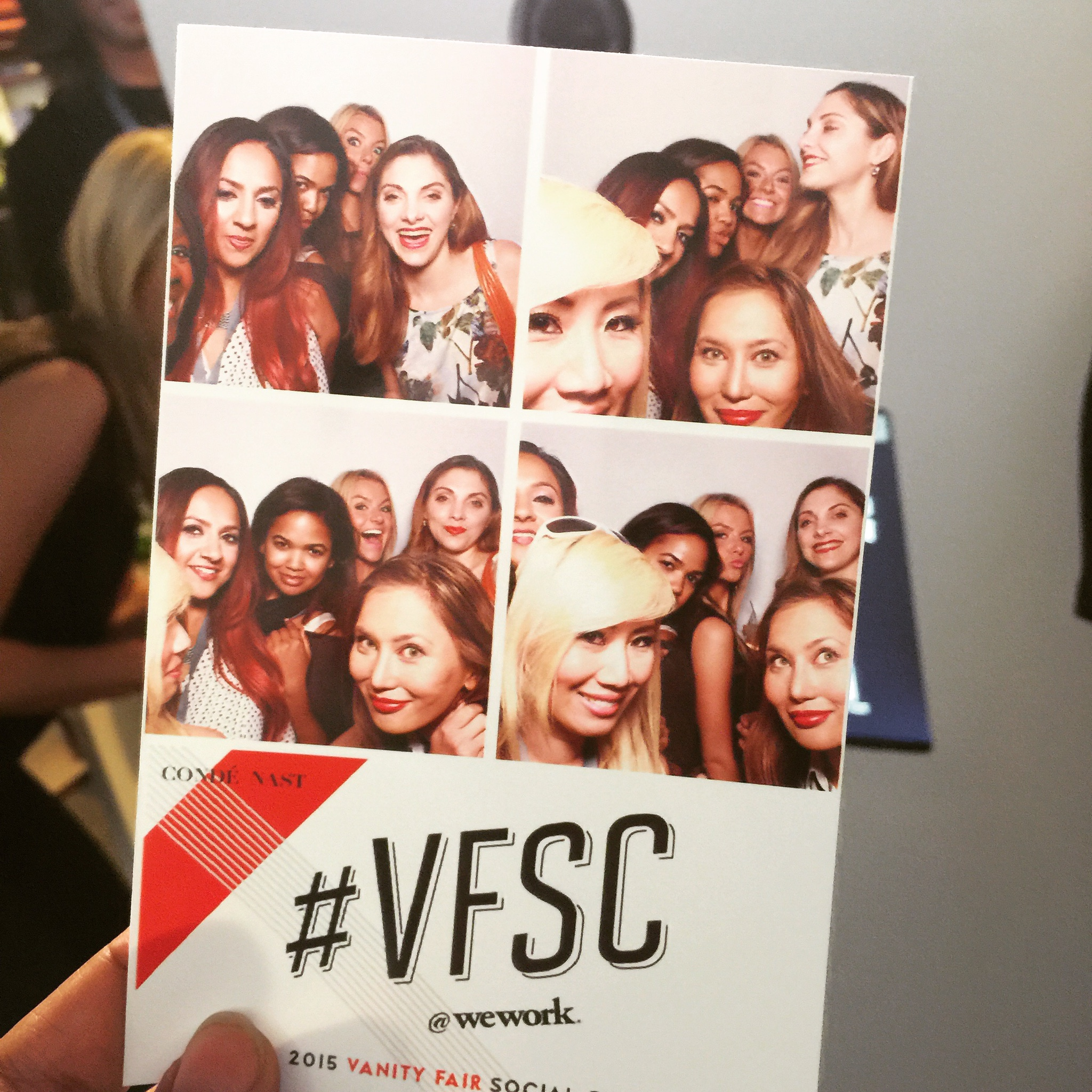 Photo booth moment with my Blogger Babes