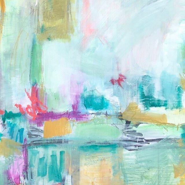 "Part of a painting, from a new series now available @artandlightgallery 36x36 "" . . . . #kiahannbellowsart #yeahthatgreenville #visitgreenvillesc #artistsofartandlight #painting #abstractartist #landscapeartist #artistoninstagram #studio #studiolife #artistinthestudio #verilymoment #paintingonpanel #buyart #buyoriginalart #buyartwork #mybeautifulmess #thenewbohemians #designsponge #sodomino #westelm #simplystyleyourspace #littlestoriesofmylife #seekinspirecreate"