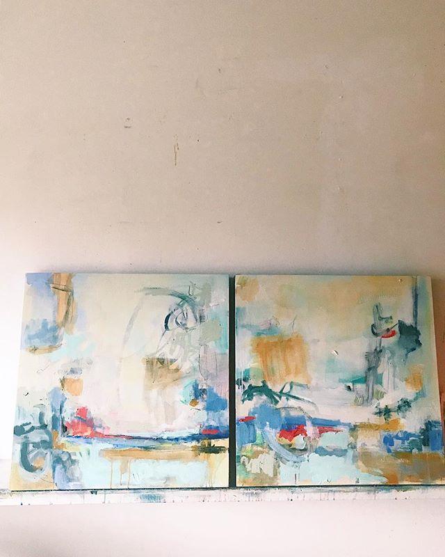 I've been prepping round the clock for the 4Bridges arts festival in TN And here's a peek at what's coming with me 🤸🏼♂️ I'm a bit dreamy eyed toward this new body of work ❤️ . . . . #kiahannbellowsart #painting #abstractartist #landscapeartist #artistoninstagram #artistinthestudio #verilymoment #paintingonpanel #scandinaviandesign #designsponge #buyart #buyoriginalart #buyartwork #mybeautifulmess #artconsultant #thenewbohemians #designsponge #sodomino #westelm #howyouhome #makehomeyours #simplystyleyourspace #littlestoriesofmylife #seekinspirecreate