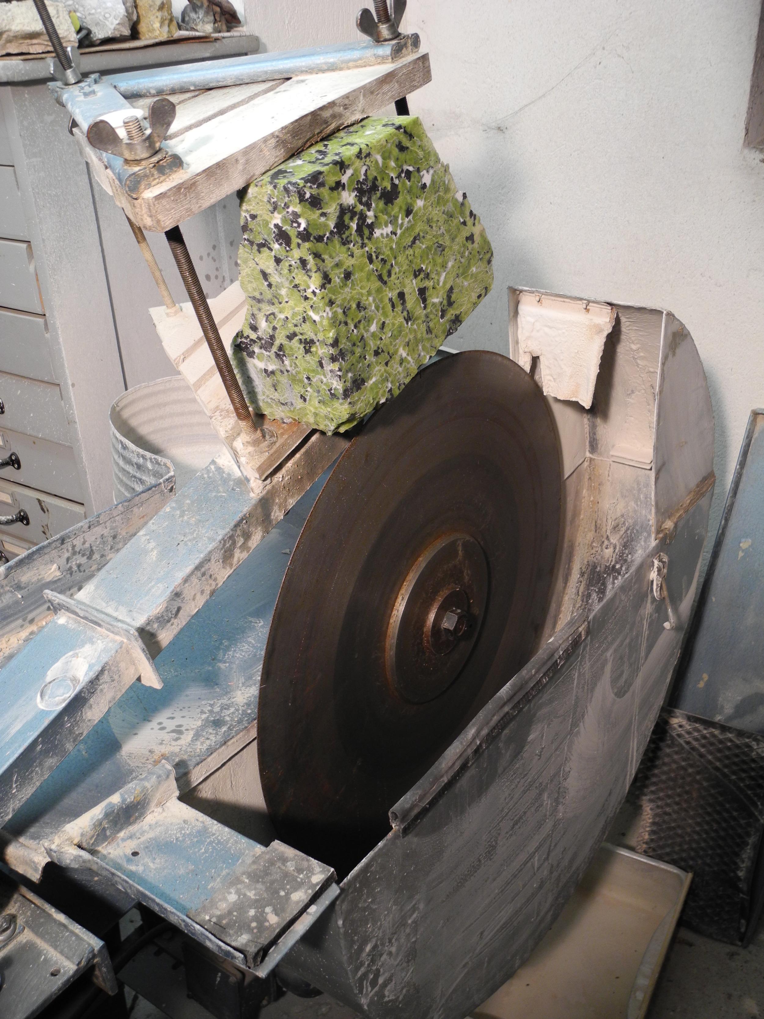 Steinsäge 700 mm Blatt