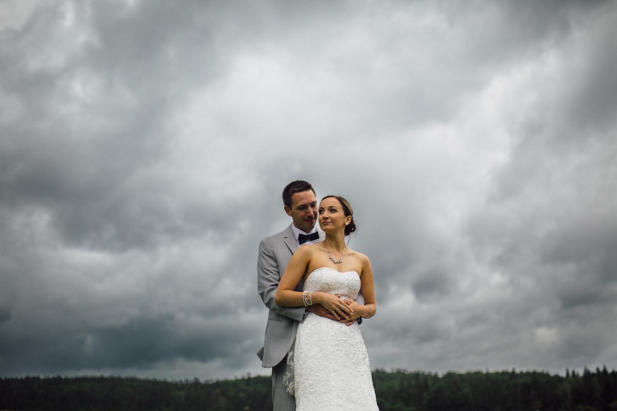 Bride and Groom Provincial Park wedding Clear Lake Manitoba