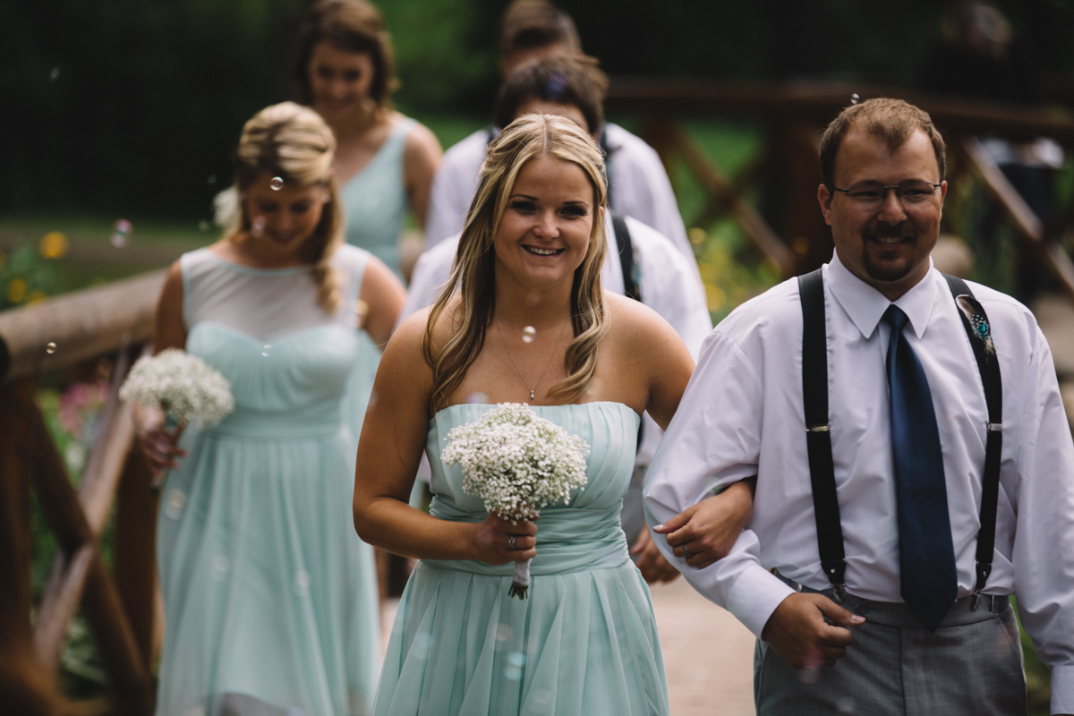 Lovely Bride's maids Provincial Park wedding Clear Lake Manitoba