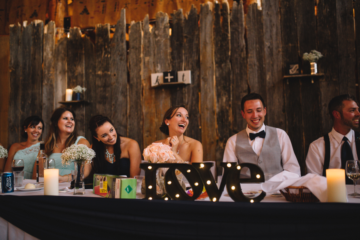 Just married couple Bride and Groom wedding reception Clear Lake Manitoba