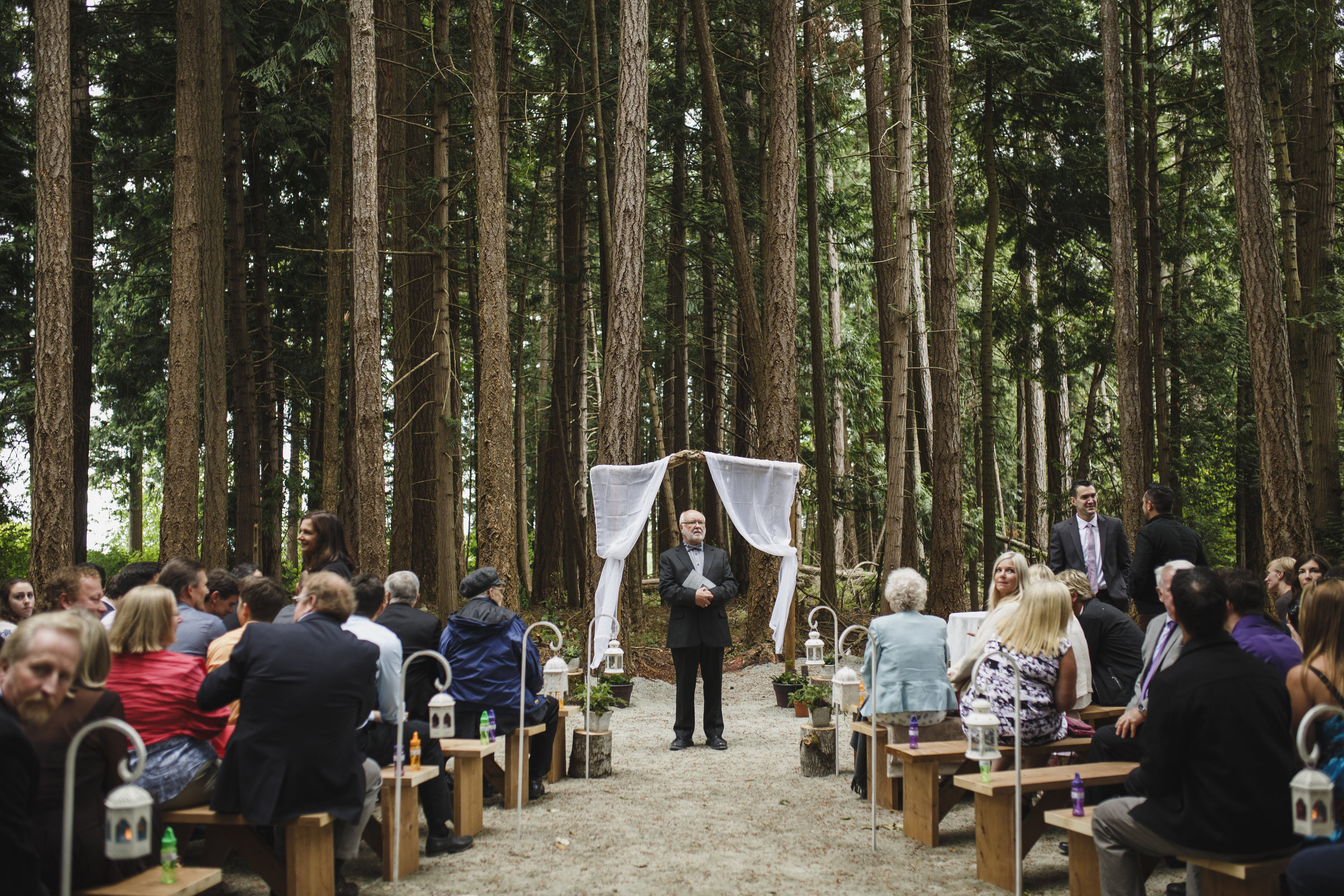 Forest wedding Tofino Sea Cider Vancouver Island
