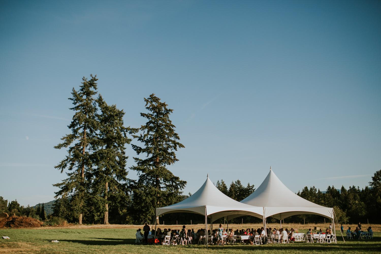 Wedding reception venue The Guild King Francis Park Forest wedding ceremony Vancouver Island