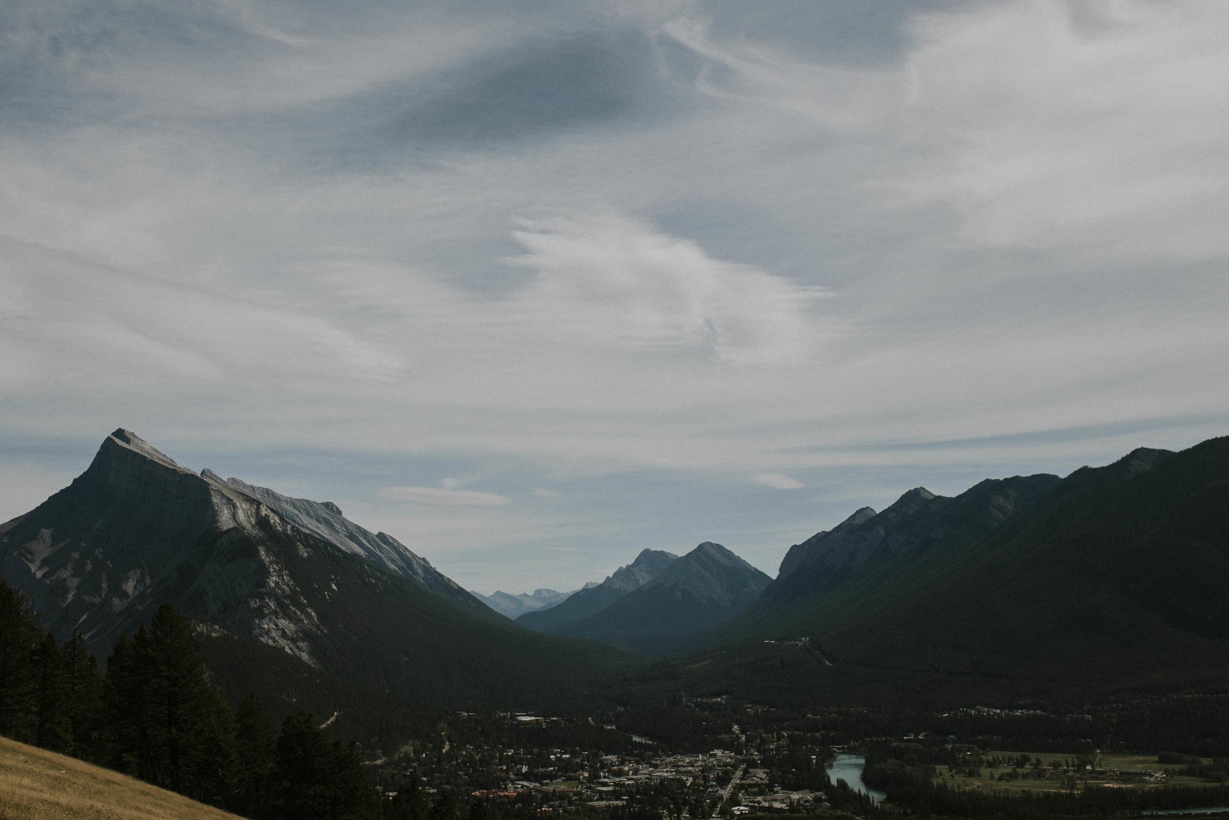 banff mountains landscape