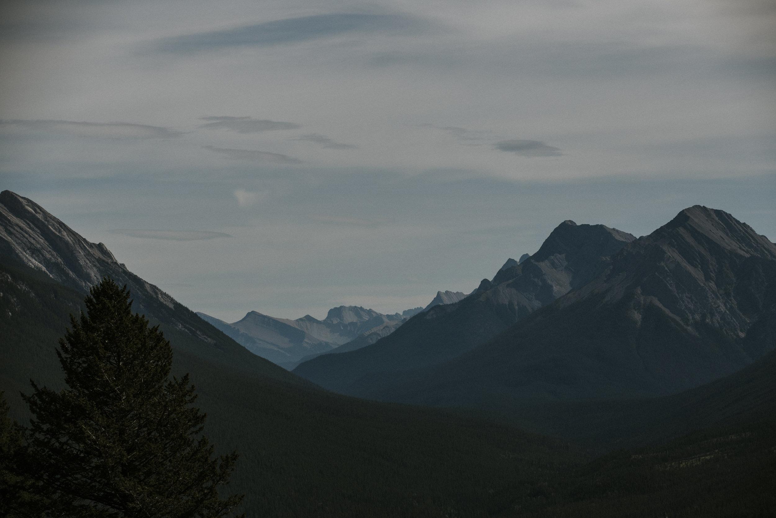 rugged rocky mountain landscape