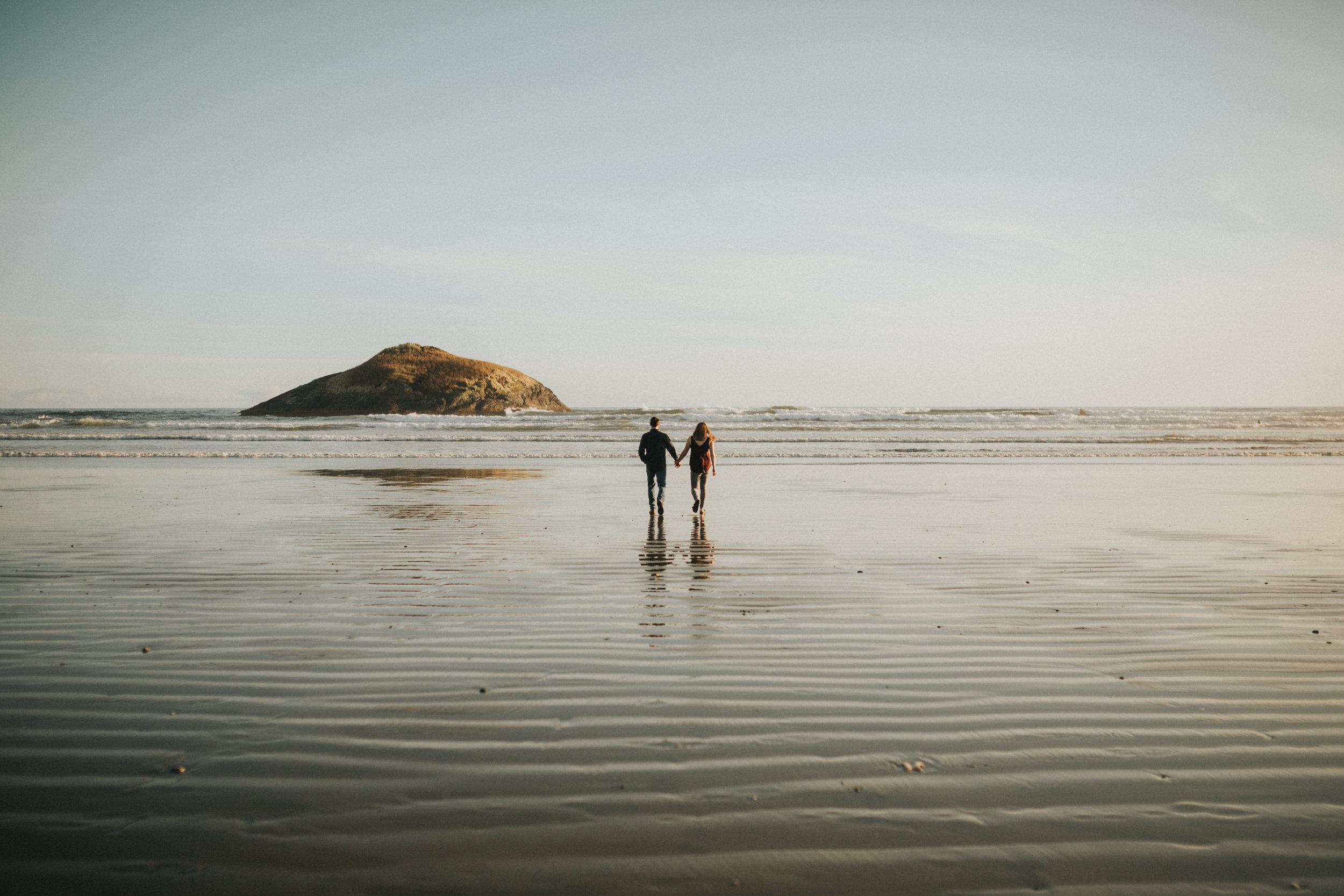 tofino engagement - vancouver island, bc