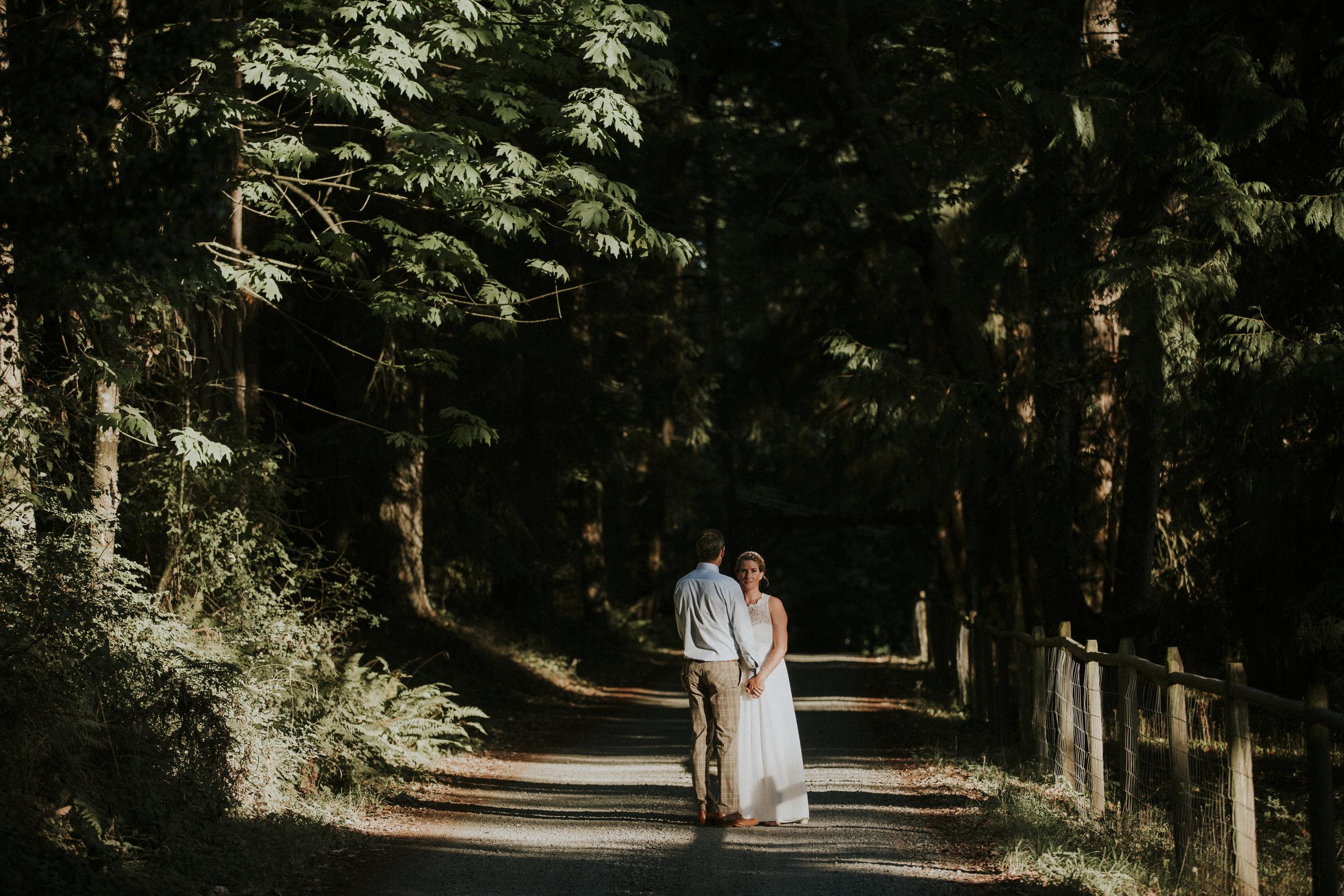 Oceanside wedding - Vancouver island wedding photographer