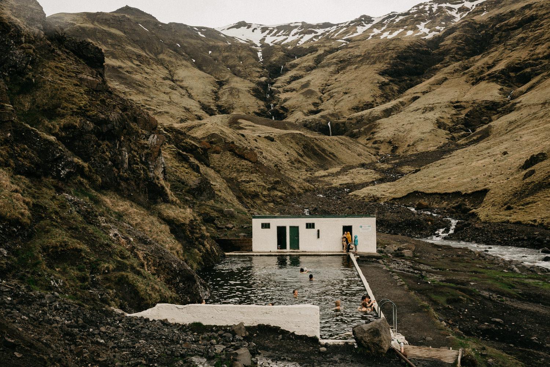 hot springs iceland oldest pool Seljavallalaug