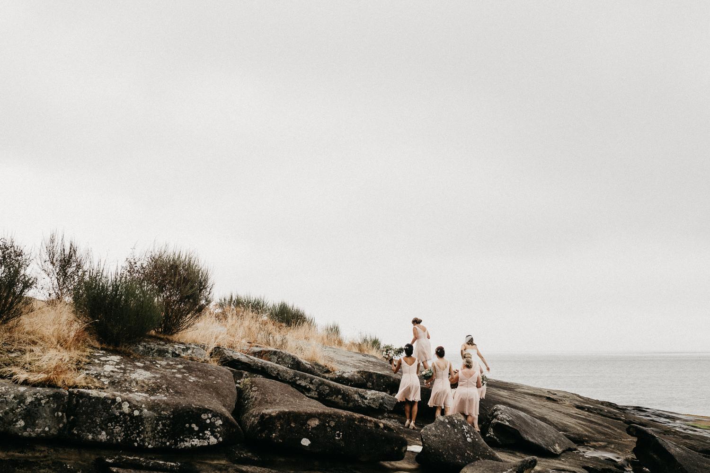 The beach scenery Galiano Island Wedding photographer