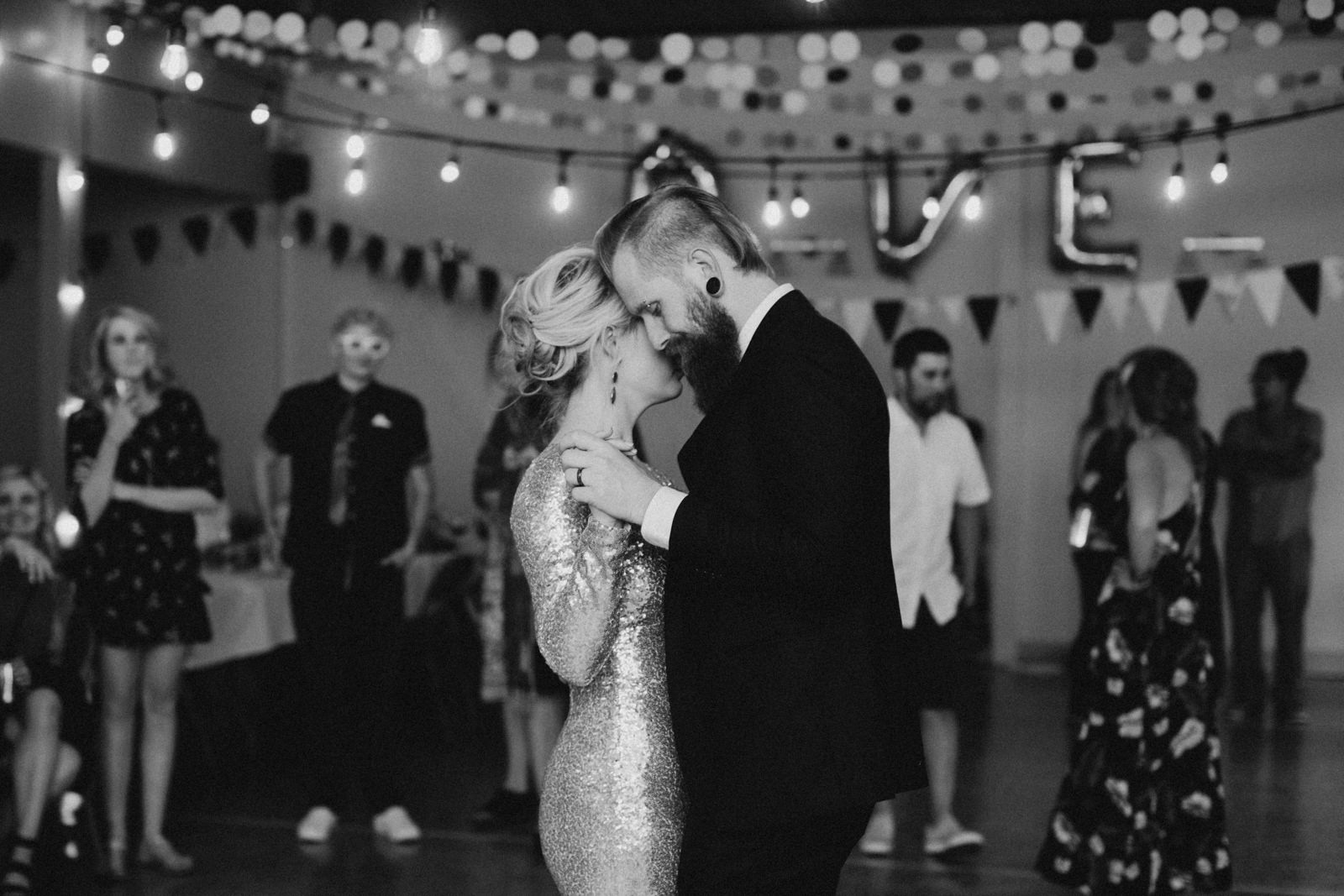 bride and grooms first dance, victoria wedding photographer