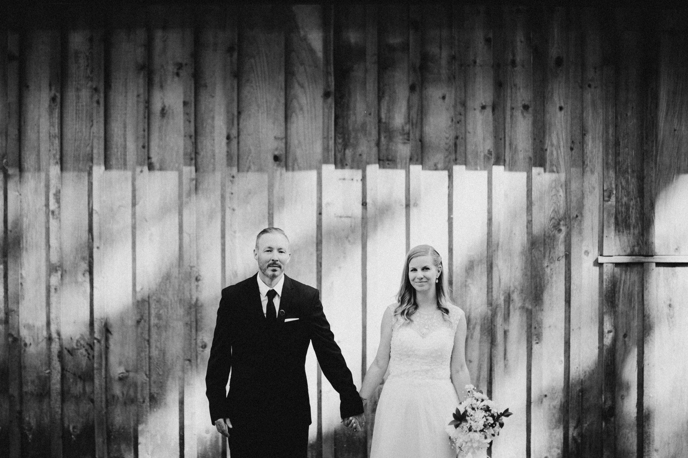 bride and groom portrait vancouver island wedding photographer