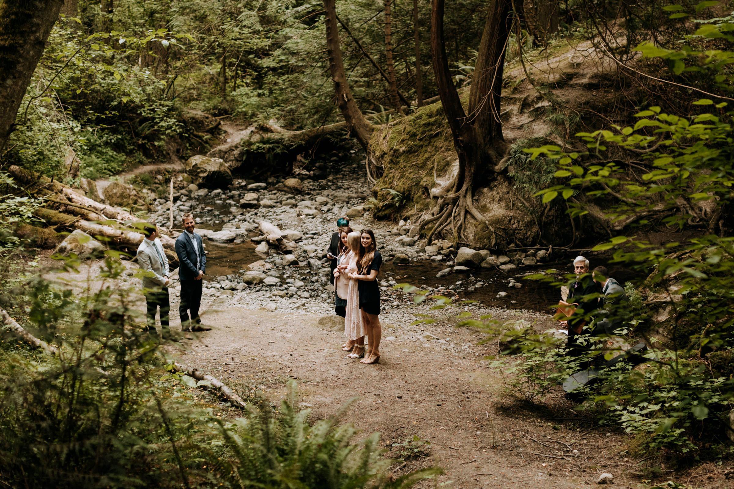 riverside elopement in Mount Douglas, Vancouver Island Elopement Photographer