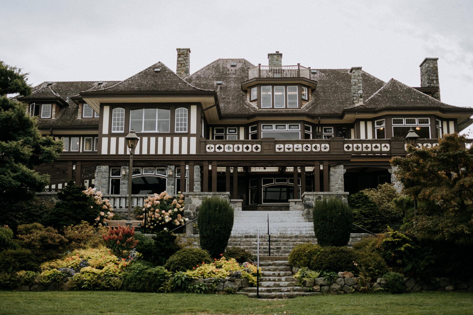 Cecil Green Park House Vancouver Wedding Photographer