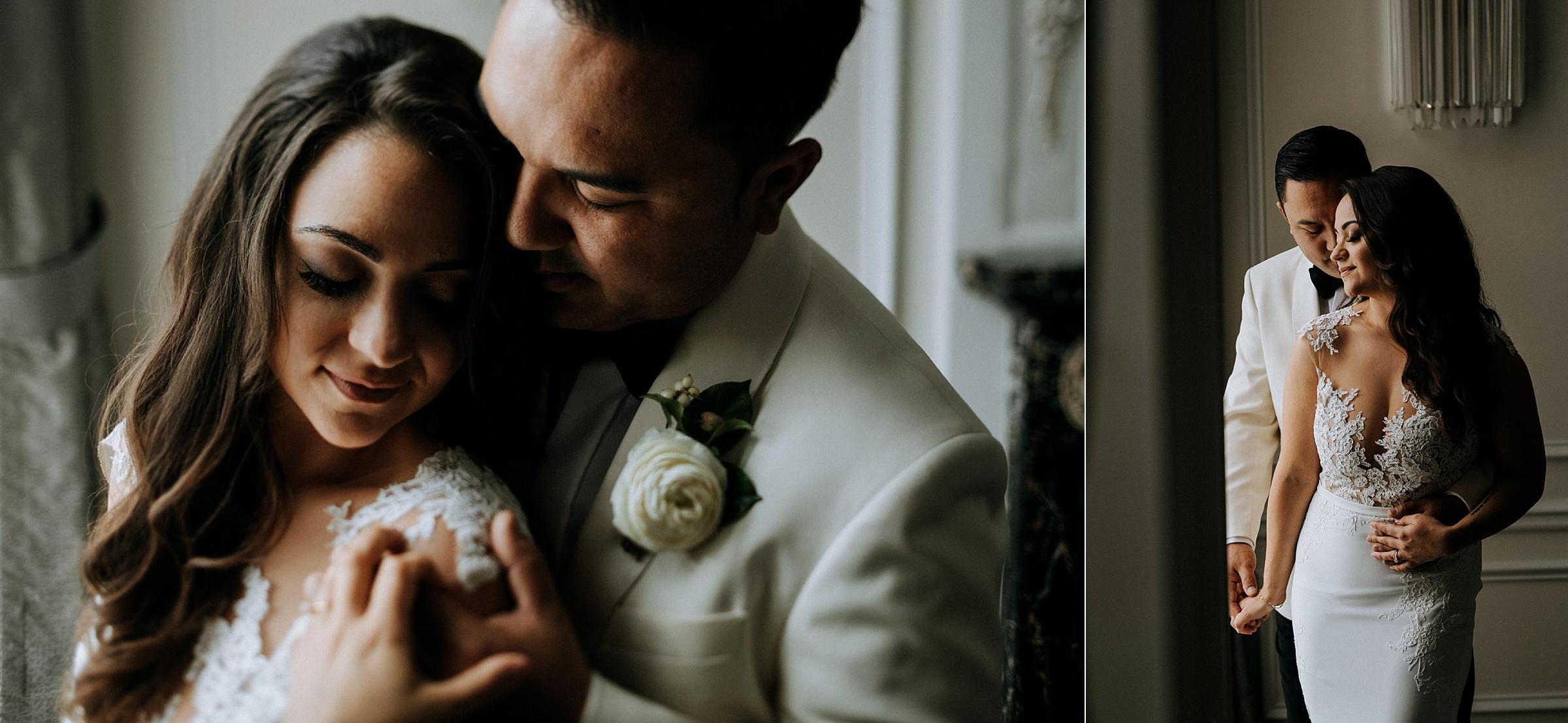 bridal portraits Hotel Georgia Vancouver Wedding Photographer