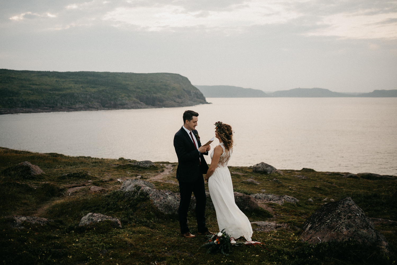 Canadian Elopement Photographer - Newfoundland Cape Spear