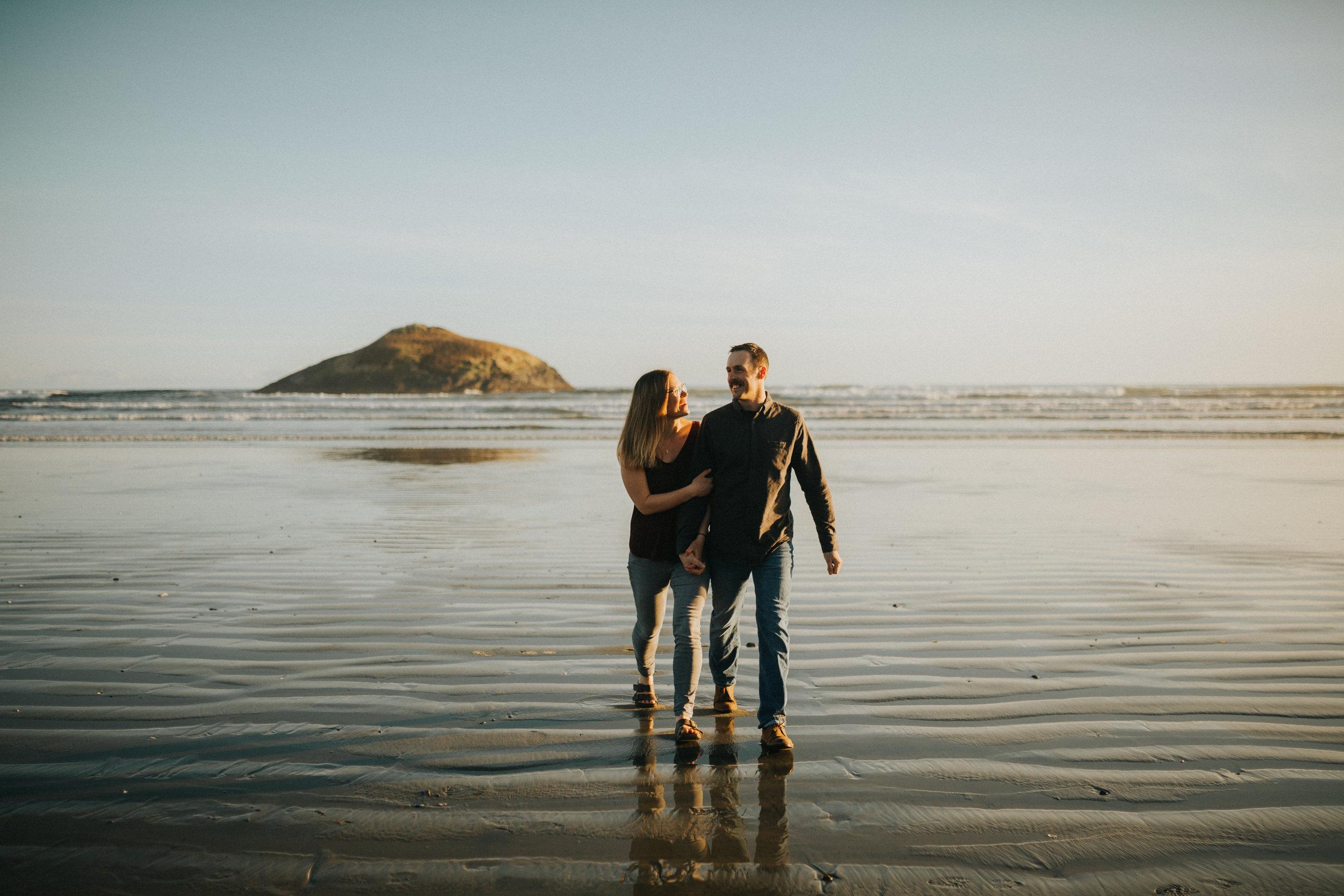 tofino beach engagement - victoria bc engagement photographer