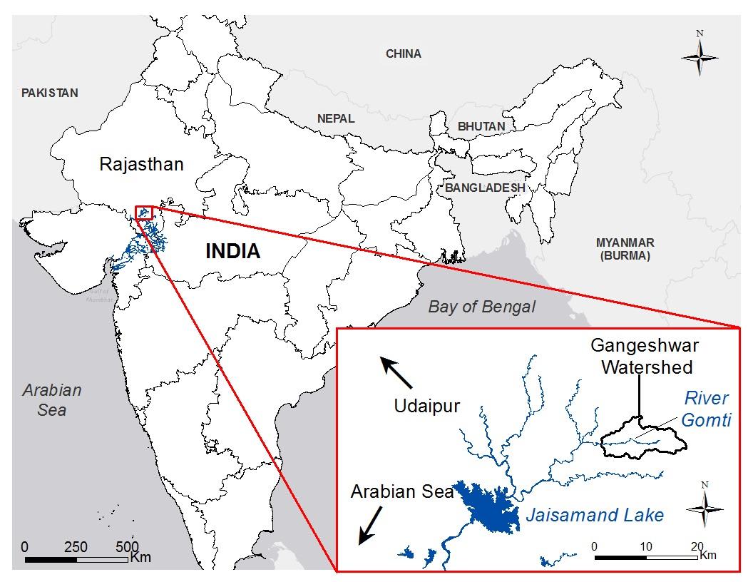 Project Site: Gangeshwar Watershed, Rajasthan, India