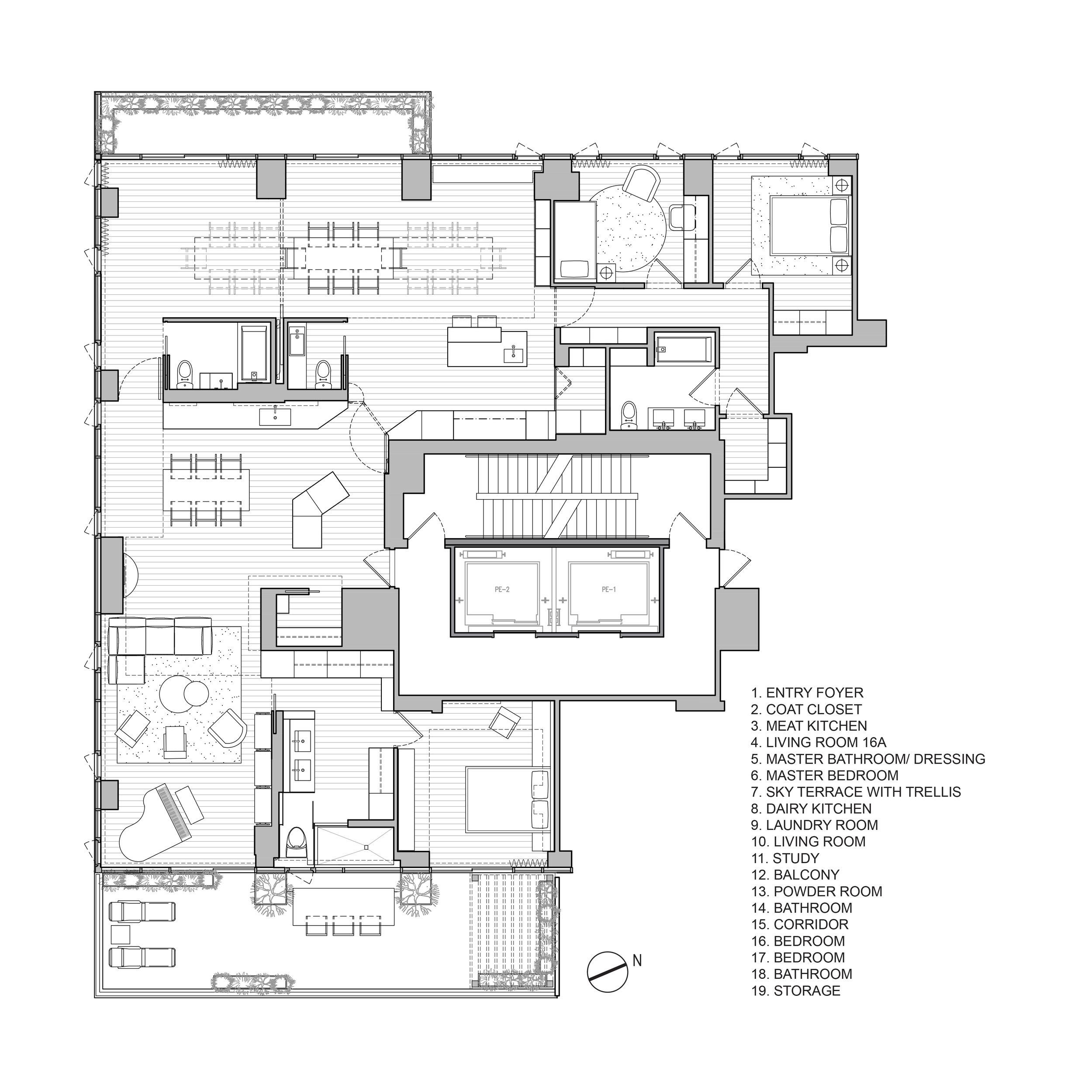 Plan Dressing En U 1503_110 third — aurelie paradiso design