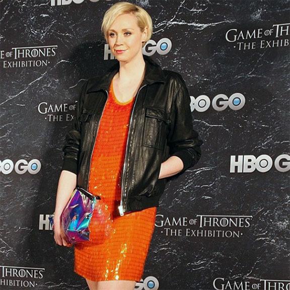 Gwendoline Christie rocked the red carpet.