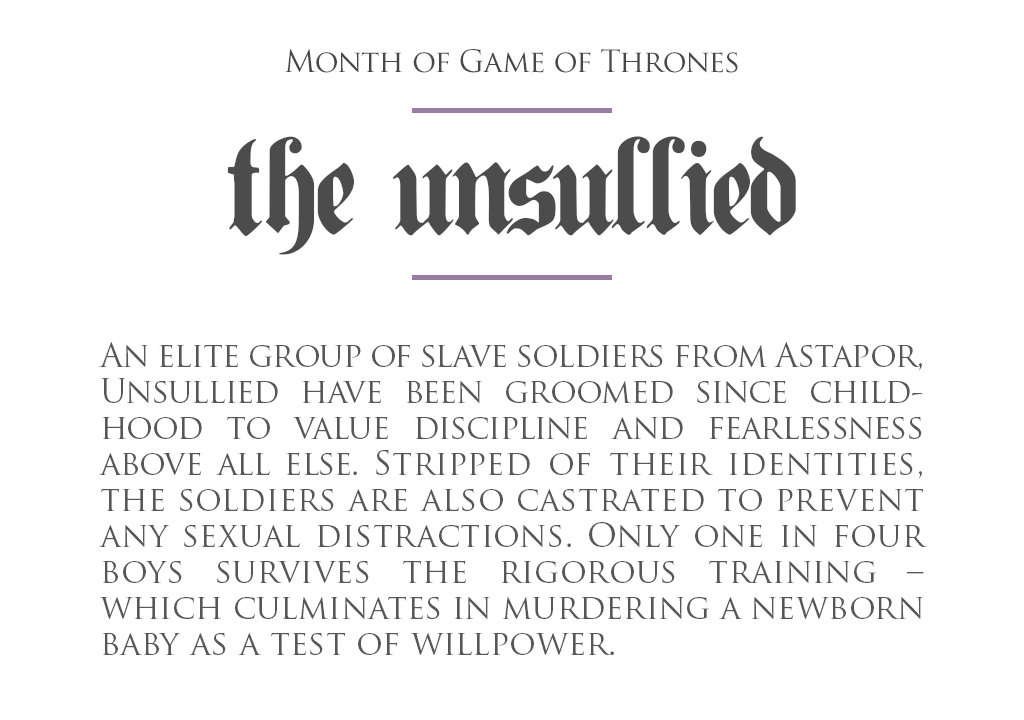 TheUnsullied_definition