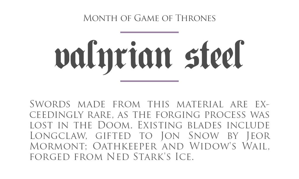 MonthOfGoT_22_ValyrianSteel.png
