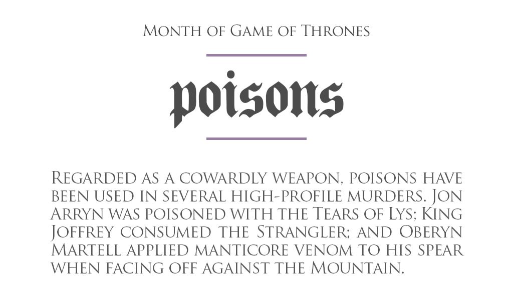 MonthOfGoT_23_Poisons.png