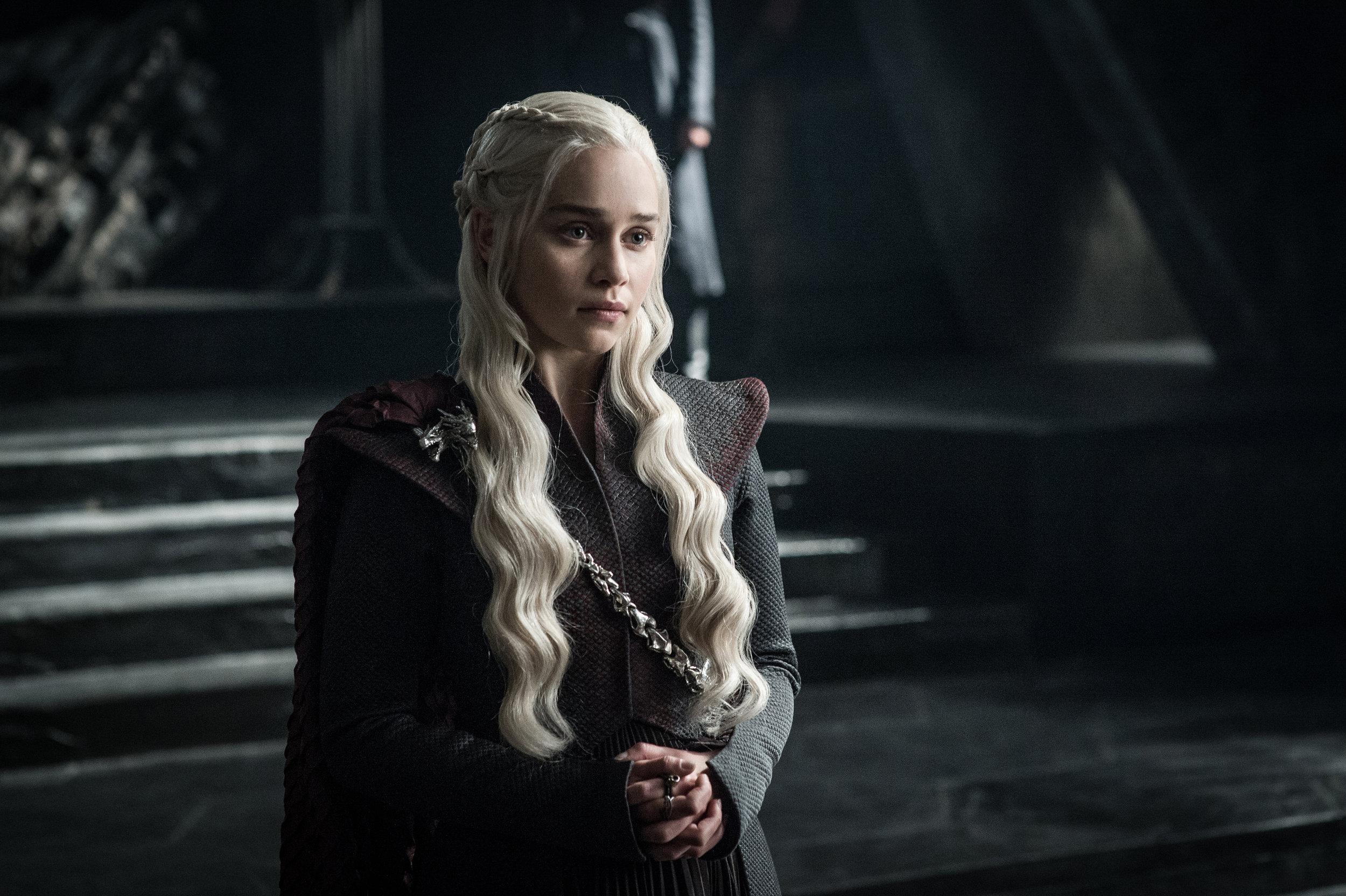 Emilia Clarke  as Daenerys Targaryen - Photo: Helen Sloan/HBO