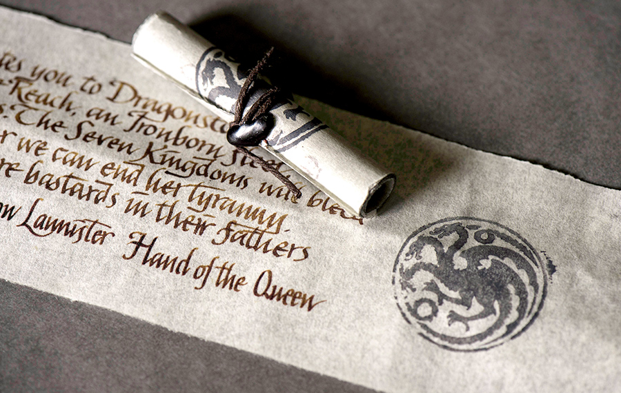 Game Of Thrones Letter from images.squarespace-cdn.com