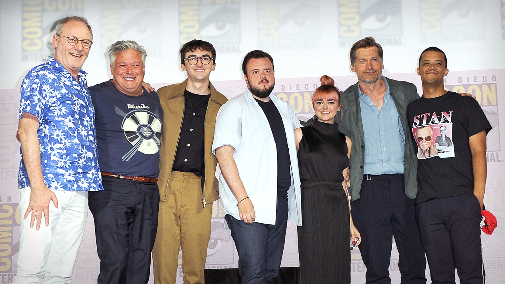 Much of the cast of 'Game of Thrones' together again