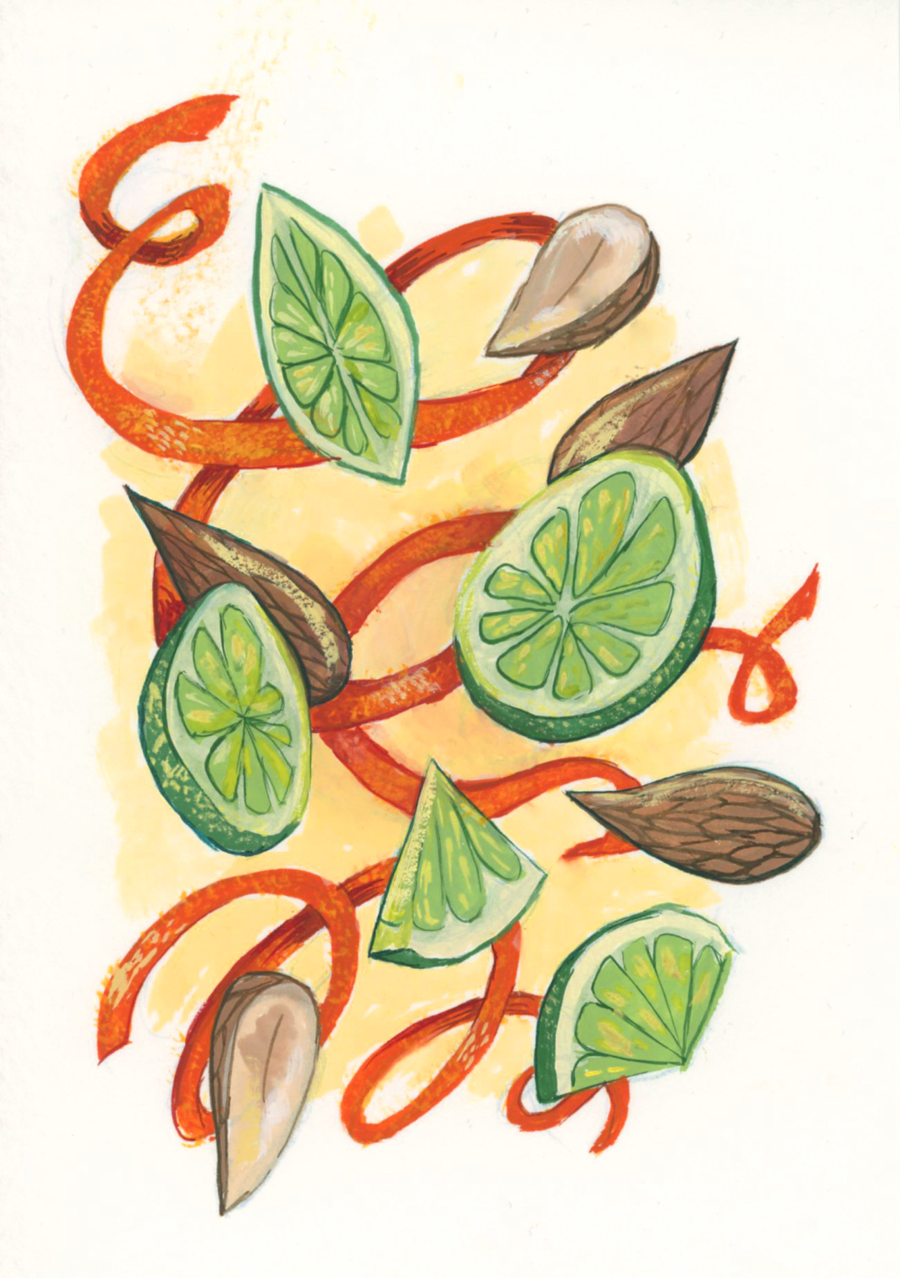 Citrus fruits to celebrate the onset of summer!