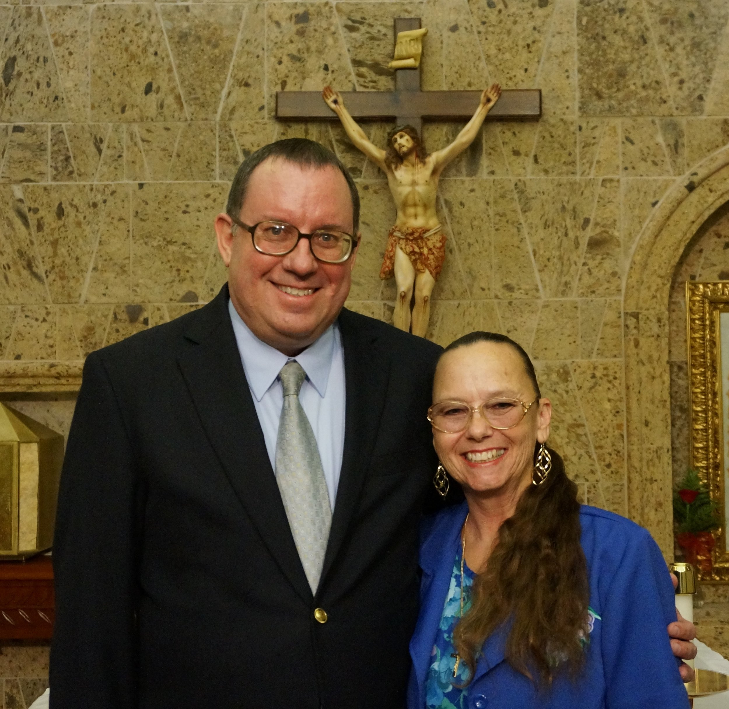 Deacon Stephen and his wife Shelly