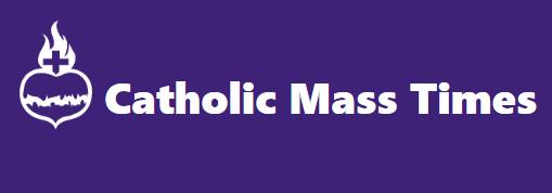 Catholic Mass Times Logo.png