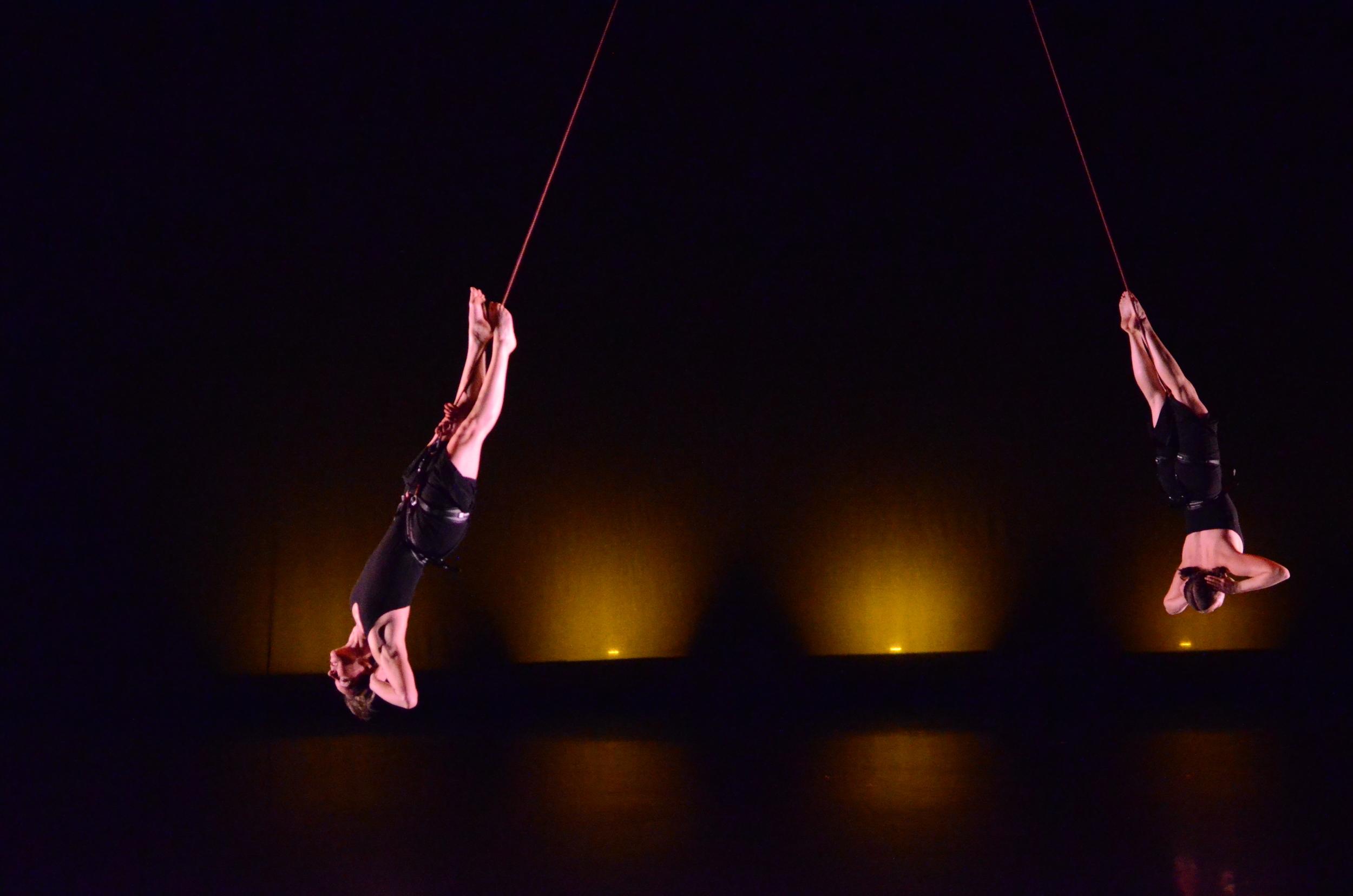 """Ashley and Kiran performing """"Inside the Circle"""""""