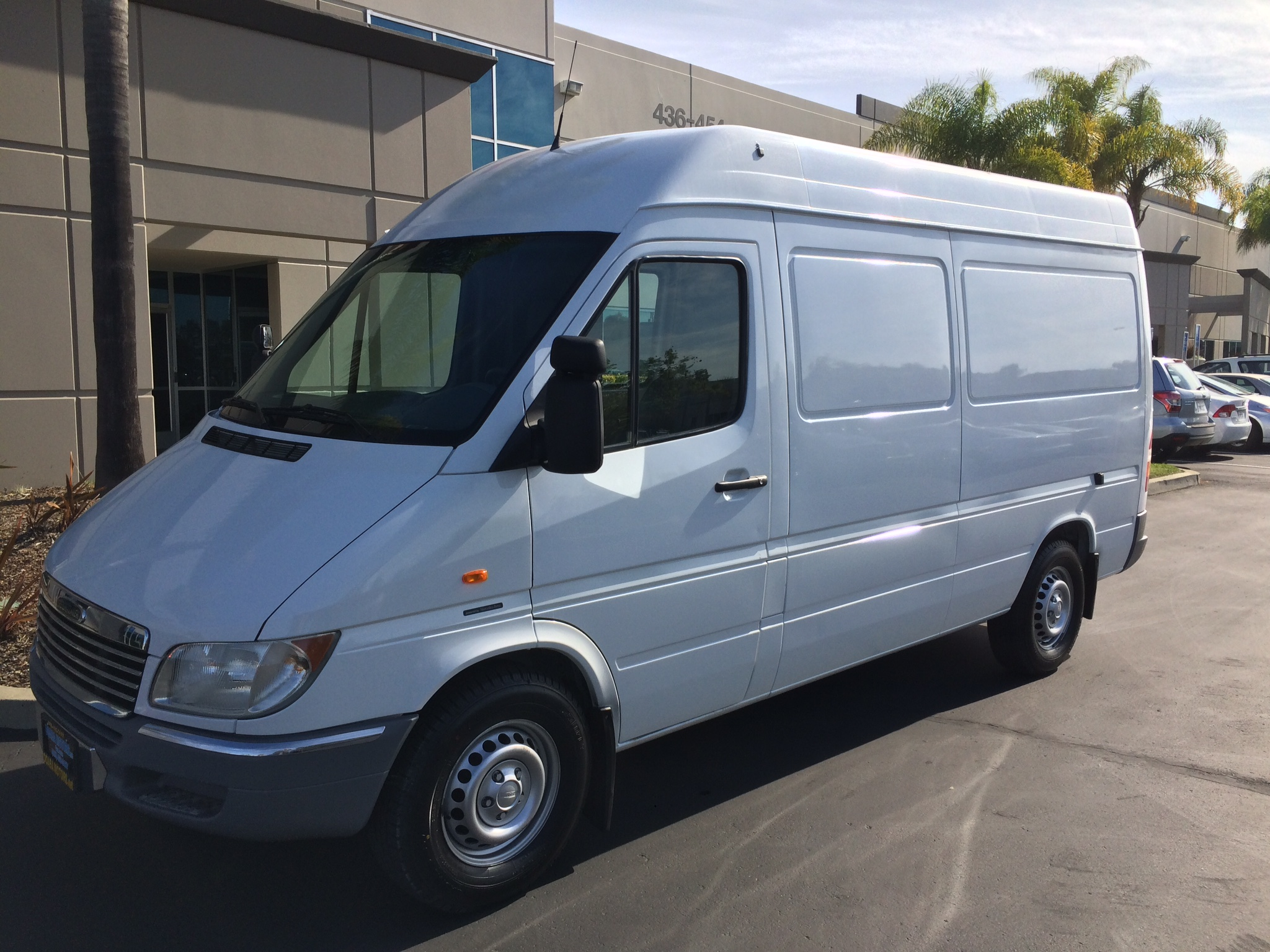 First picture of the van