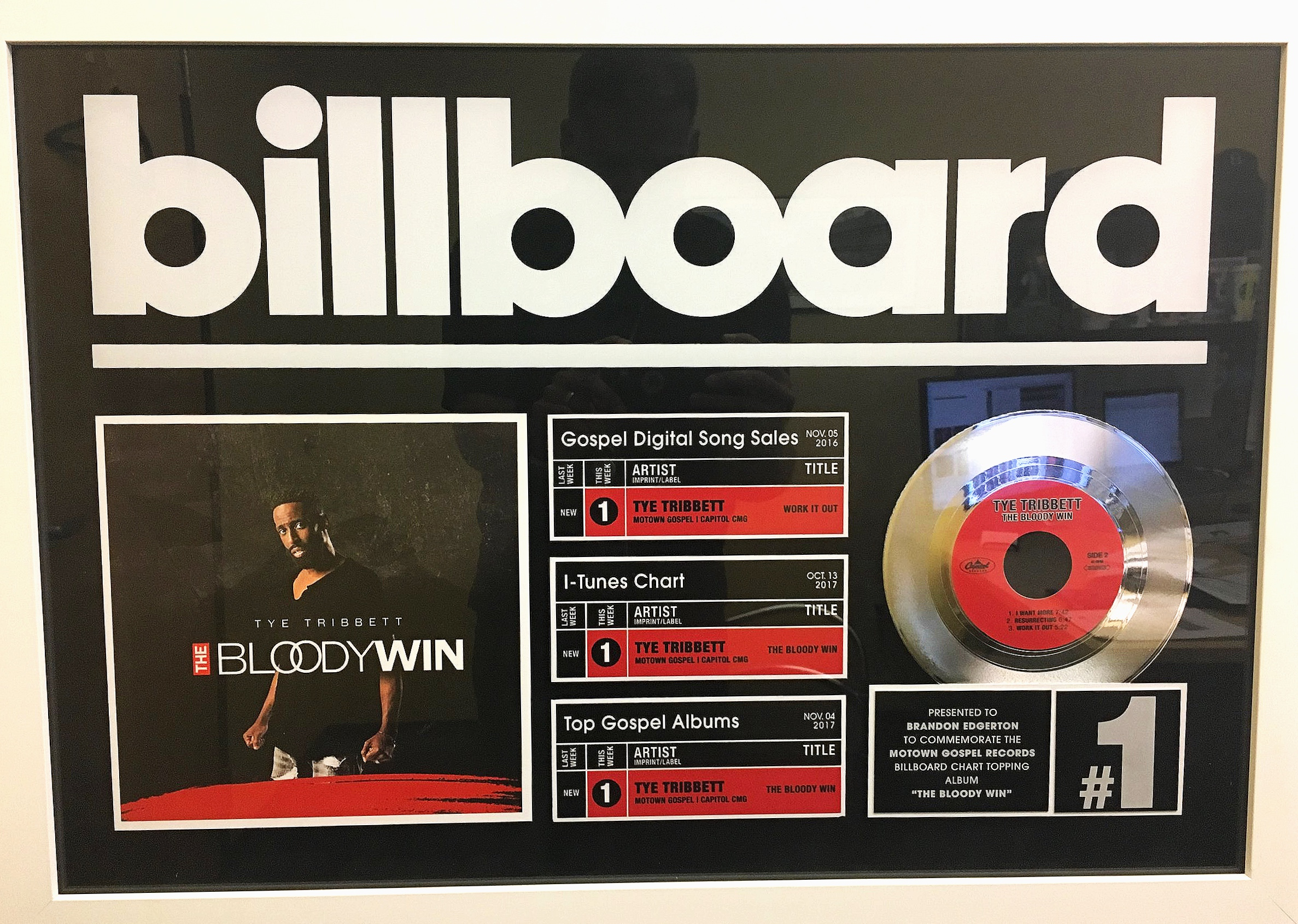 Billboard #1 Projects - - Billboard #1 Top Gospel Airplay - Donald Lawrence & Tri-City Singers feat. Leandria Johnson - Deliver Me- Billboard #1 Top Gospel Album - Various Artists, WOW 2019- Billboard #1 Top Gospel Album - Elevation Collective, Evidence- Billboard #1 Top Gospel Album - Various Artists, WOW 2018- Billboard #1 Top Gospel Album - Various Artists, Snoop Dogg Presents The Bible of Love- Billboard #1 Top Gospel Album - Koryn Hawthorne, Unstoppable- Billboard #1 Top Gospel Album - Tye Tribbett, The Bloody Win- Billboard #1 Top Gospel Album - Travis Greene, Crossover: Live From Music City- Billboard #1 Top Christmas Song - Backstreet Boys, Christmas Time Again- Billboard #1 Top Gospel Album - Heather Headley, Audience Of One- Billboard #1 Top Gospel Album - The Clark Sisters, Live: One Last Time- Billboard #1 Top Gospel Album - Kierra