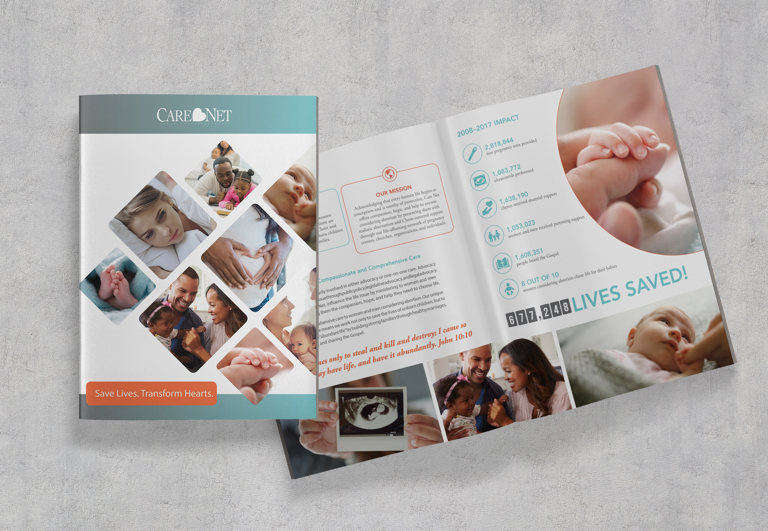 Care Net Major Donor Case for Support Fundraising Brochure