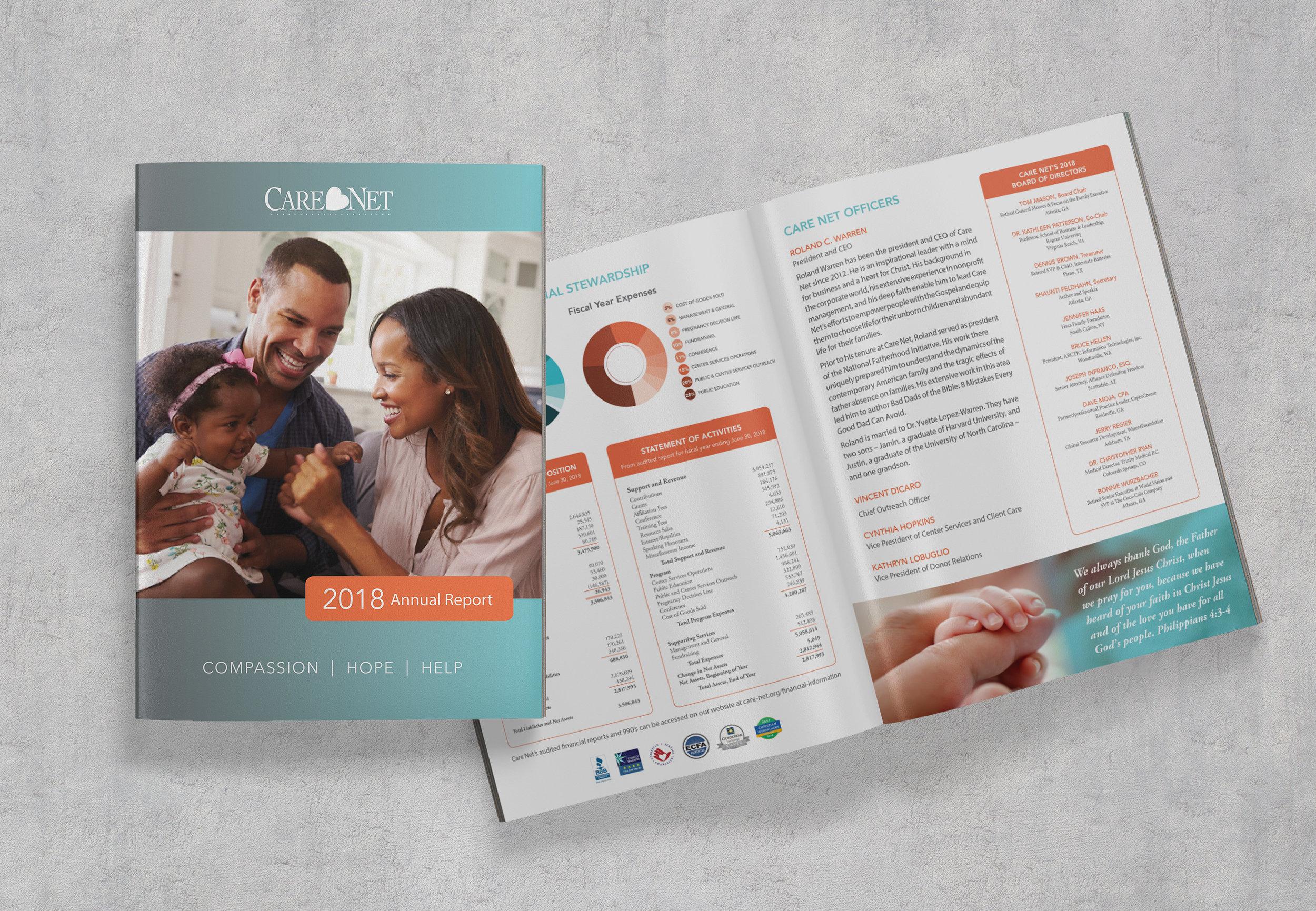 Care Net Annual Report Brochure