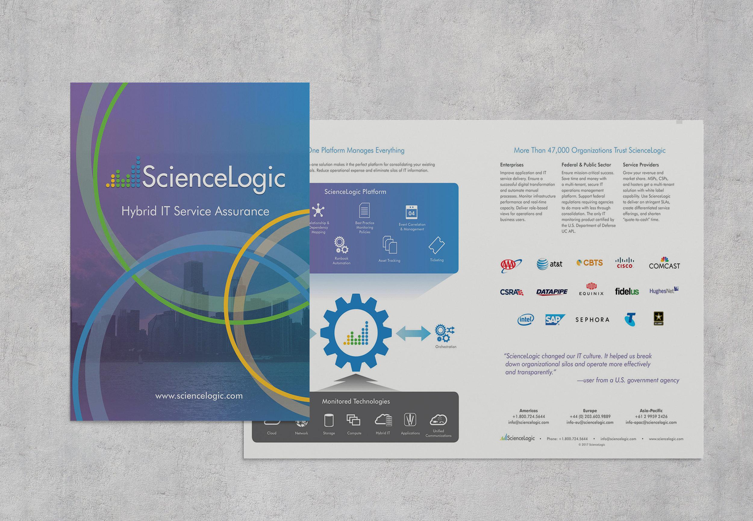 ScienceLogic Corporate Brochure
