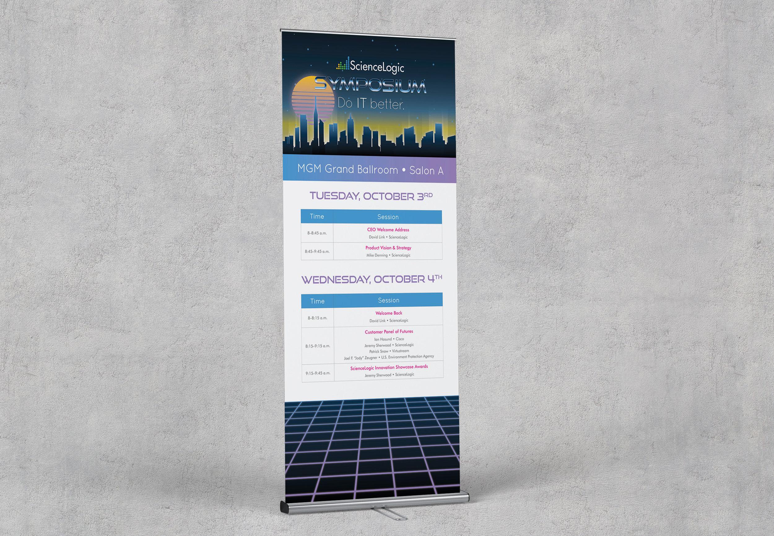 ScienceLogic Symposium 2017 Keynote Banner