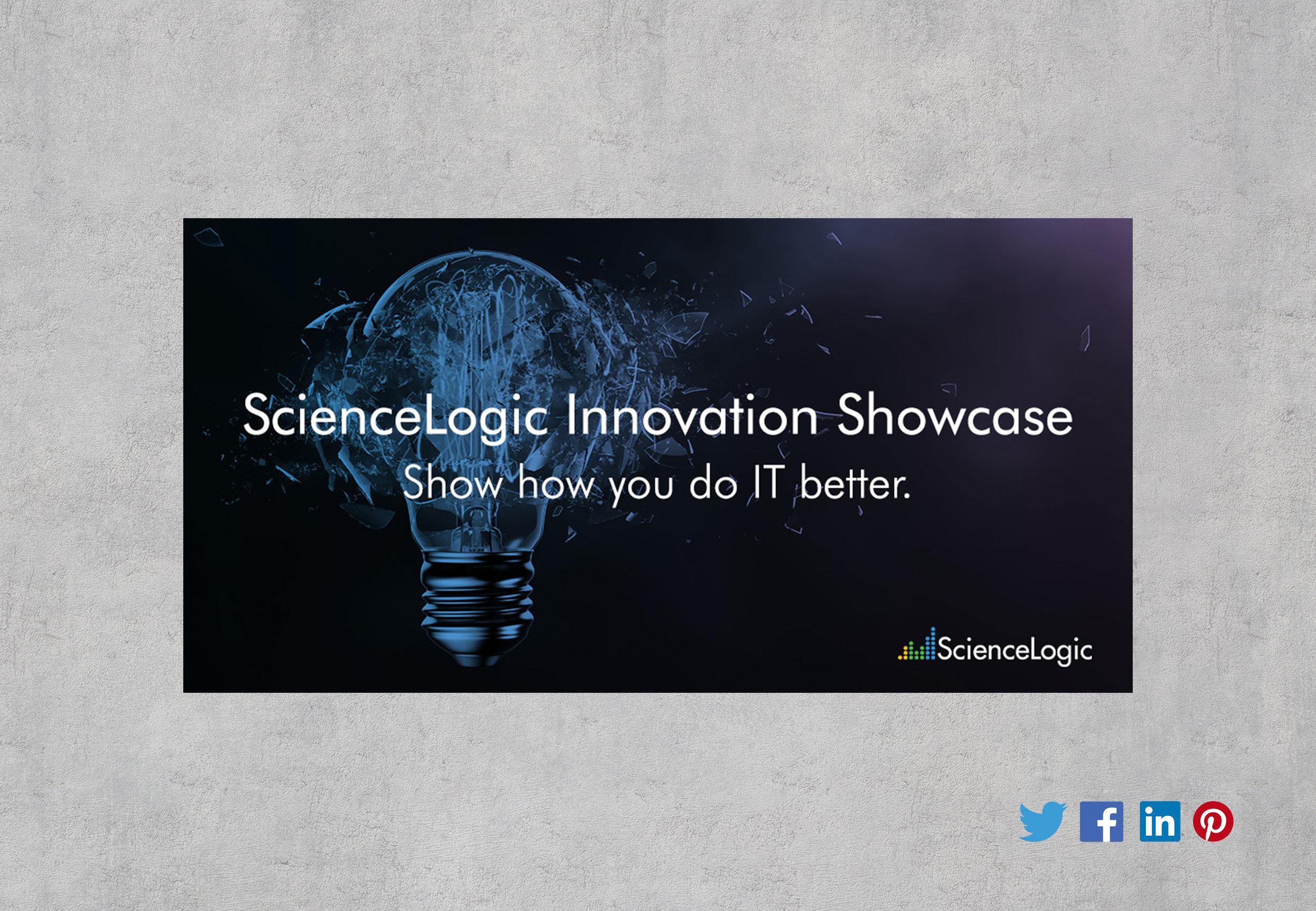 ScienceLogic Twitter/LinkedIn