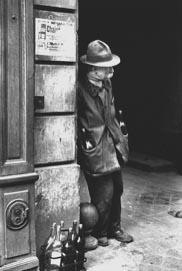 Man with Bottles, Paris 1938