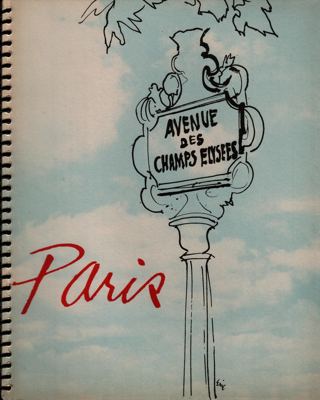 Paris 1945 Calendar